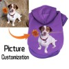 Picture Customization Personalised Fashion Dog Clothes